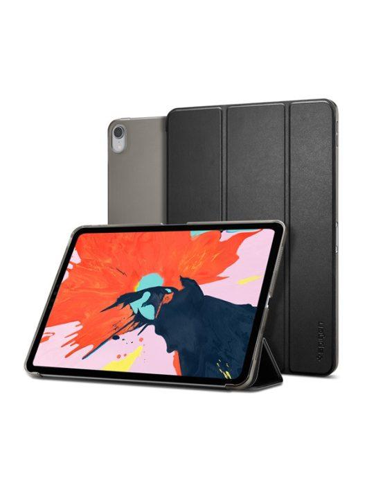 """Spigen Smart Fold Apple iPad Pro 11"""" (2018) oldalra nyíló tok, fekete"""