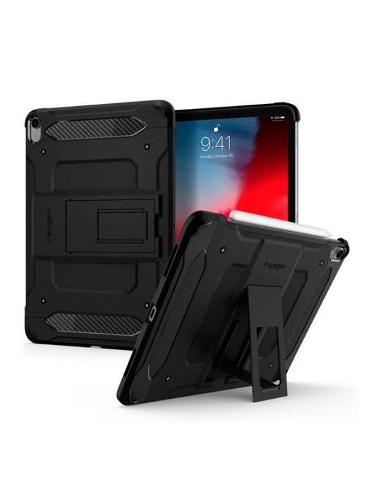 "Spigen Tough Armor Tech Apple iPad Pro 11"" (2018) Black tok, fekete"