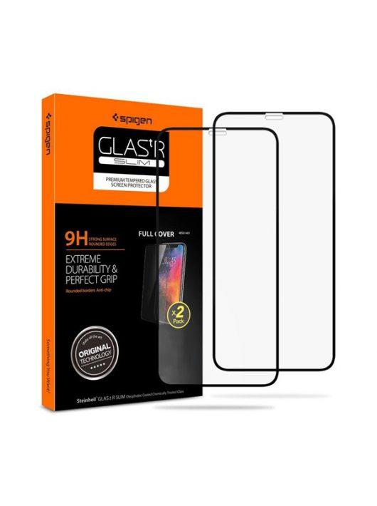 Spigen Glass FC Apple iPhone 11 / XR Tempered kijelzővédő fólia 2db