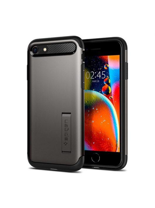 Spigen Slim Armor Apple iPhone SE(2020) Gunmetal tok, szürke