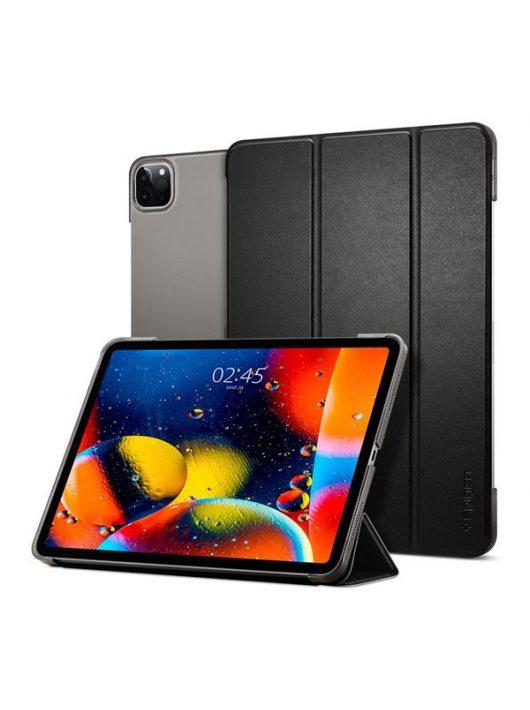 """Spigen Smart Fold Apple iPad Pro 11"""" (2020) oldalra nyíló tok, fekete"""